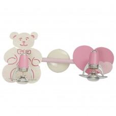 Спот детский Nowodvorski 3657 Honey Бежевый,розовый,с блестками