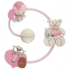 Спот детский Nowodvorski 3660 Honey Бежевый,розовый,с блестками