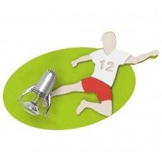 Спот детский Nowodvorski 4593 Football Зеленый,белый,красный,серый
