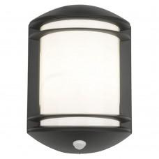 Уличный настенный светильник с датчиком движения Nowodvorski 7016 Quartz Графит,белый