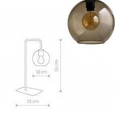 Настольная лампа лофт Nowodvorski 9308 Monaco Черный