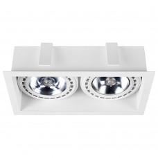 """Встраиваемый светильник """"кардан"""" Nowodvorski 9412 Mod Белый"""