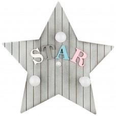 Настенный светильник Nowodvorski 9293 Toy-Star Дерево