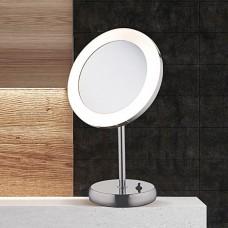 Настольная лампа светодиодная Nowodvorski 9504 Makeup Led Хром, белый 3W