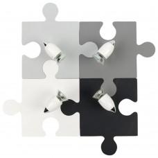 Спот детский Nowodvorski 9728 Puzzle Мультиколор