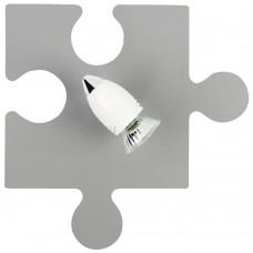 Спот детский Nowodvorski 9730 Puzzle Серый