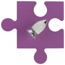 Спот детский Nowodvorski 6383 Puzzle Фиолетовый