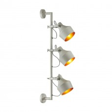 Бра Odeon Light 4083/3WA Osta серый/золотой E27 3*40 Вт