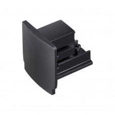 Заглушка торцевая для трёхфазного шинопровода Novotech 135045 черный