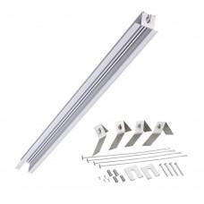 Встраиваемый профиль для шинопровода 2000*48мм Novotech 358091 Sabro серебро