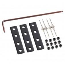 Соединители для низковольтного шинопровода Novotech 135026 Kit черный