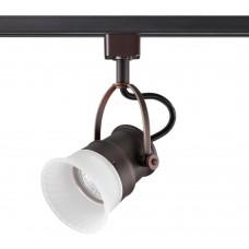 Трековый светильник Novotech 370549 Veterum коричневый GU10 50 Вт
