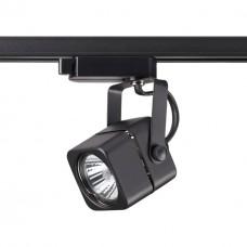Трековый светильник Novotech 370429 Pipe черный GU10 50 Вт