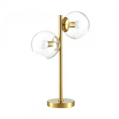 Настольная лампа Lumion 3769/2T Blair латунь E14 2*60 Вт