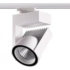 Трехфазный трековый светодиодный светильник Novotech 358199 Helix белый LED 45 Вт 4000K