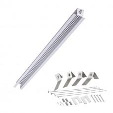 Встраиваемый профиль для шинопровода 1000*48мм Novotech 358090 Sabro серебро