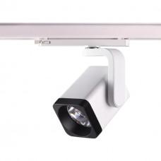 Трехфазный трековый светодиодный светильник Novotech 358176 Helix белый/черный LED 25 Вт 4000K