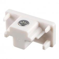 Заглушка торцевая для однофазного шинопровода Novotech 135016 белый