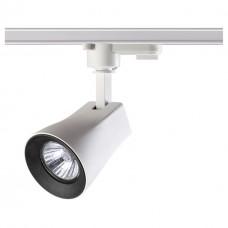 Трековый светильник Novotech 370404 Pipe белый/черный GU10 50 Вт