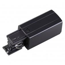 Соединитель-токопровод-левый для трёхфазного шинопровода Novotech 135047 черный