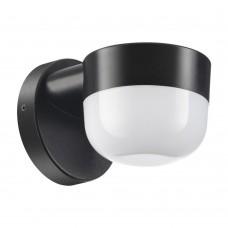 Ландшафтный настенный светильник Novotech 358451 чёрный LED 4000K 12W 220V OPAL