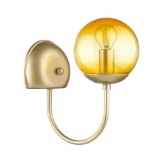 Бра Lumion 4482/1W золотой, желтый E14 60W 220V SCARLETT