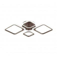 Люстра потолочная с пультом ДУ Lumion 4521/72CL коричневый LED 72W 3000-6000К 5616Лм 220V KAMI