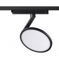 Однофазный трековый светильник Novotech 358348 черный IP20 LED 4000K 18W 85-265V HAT
