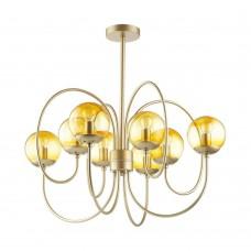 Люстра потолочная Lumion 4482/8C золотой, желтый E14 8*60W 220V SCARLETT