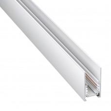 135090 SHINO NT20 026 белый Низков. шинопровод 1м (токопровод и заглушки в комплекте) IP20 48V FLUM