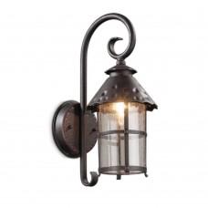 2312/1W NATURE ODL12 591 коричневый Уличный настен светильник IP44 E27 60W 220V LUMI