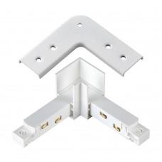 135104 SHINO NT20 026 белый Соединитель с токопроводом для шинопровода