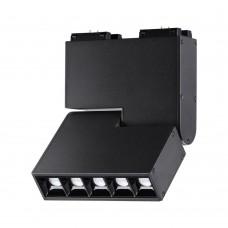 358470 SHINO NT20 031 черный Трековый светильник для низков.шинопровода IP20 LED 4000К 10W 24V KIT