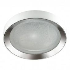 Потолочный светодиодный светильник Odeon Light 4018/57CL Teno белый/хром 57w 4000К