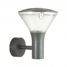 Уличный настенный светильник Odeon Light 4046/1W Lenar матовый серый