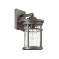 Уличный настенный светильник Odeon Light 4044/1W Virta черный/патина