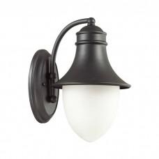 Уличный настенный светильник Odeon Light 4041/1W House черный