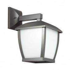 Уличный настенный светильник Odeon Light 4051/1W Tako темно-серый/матовый белый