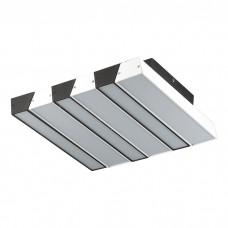 Потолочный светодиодный светильник Odeon Light 4015/46CL Piano черный/белый 46w 4000К