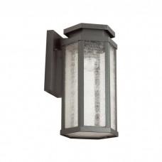 Уличный настенный светильник Odeon Light 4048/1W Gino темно-серый/белый