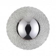 Потолочный светодиодный светильник Odeon Light 3560/18L Solario серебряное фольгирование 18w 3000K