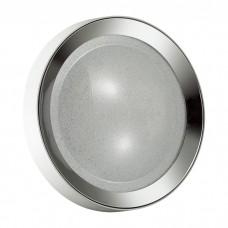Потолочный светодиодный светильник Odeon Light 4018/38CL Teno бел./хром/прозрачн. 38w 4000К