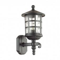 Уличный настенный светильник Odeon Light 4043/1W House черный