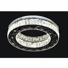 Потолочная люстра светодиодная Omnilux OML-00417-80 Lonato Хром LED 80 Вт с пультом