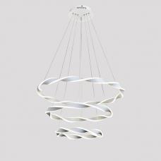 Подвесная люстра светодиодная Omnilux OML-00703-223 Empoli Белый LED 4000K 223 Вт