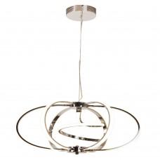 Подвесная люстра светодиодная Omnilux OML-02003-81 Vescina Хром LED 3000K-6000K 81 Вт с пультом