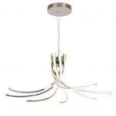 Подвесная люстра светодиодная Omnilux OML-02103-120 Uscio Хром LED 120 Вт с пультом