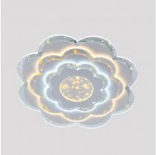 Потолочный светильник светодиодный Omnilux OML-08707-130 Vittuone Белый LED 3000K-6000K 130 Вт с пультом