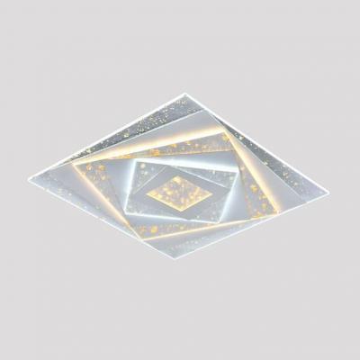 Потолочный светильник светодиодный Omnilux OML-08727-151 Vittuone Белый LED 3000K-6000K 151 Вт с пультом