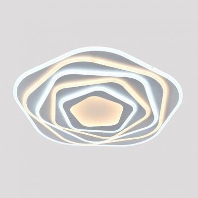 Потолочный светильник светодиодный Omnilux OML-09407-285 Longa Белый LED 3000K-6000K 285 Вт с пультом